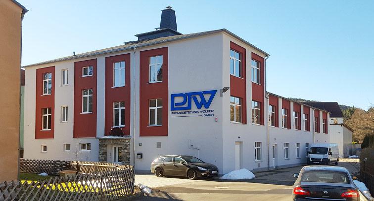 Firmengebäude von ProzessTechnik Wölfer GmbH